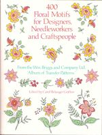 400 Floral Motifs for Designers Needleworkers and Craftspeople by Wm. Briggs and Company Ltd - Dover Publications Inc. Floral Border, Floral Motif, Free Design, My Design, Dover Publications, Flower Branch, Plant Illustration, Hand Embroidery Designs, Livros