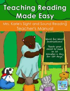 Teaching Reading Made Easy! If you would like to help teach your student to read, this teacher's manual is a step by step guide -everything you need to know and do to help students to reading success. No prep needed, everything is completely scripted and easy! This teachers manual consists of 120 daily lessons that take about 15 minutes a day. The students learn new words to read each day. The sight words build upon themselves and the students gain confidence in reading, while learning si...