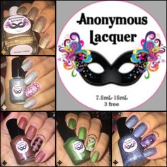 "Indie #anonymouslacquer  This is from the  ""Celebration Collection"""