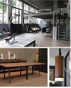 Interior design | decoration | loft | industrial