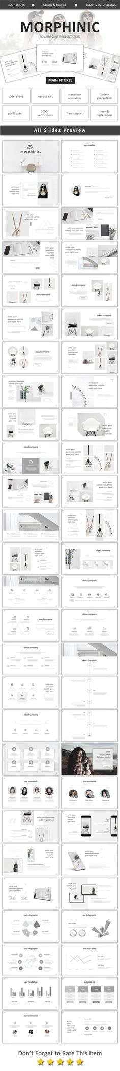 Morphinic Modern Powerpoint - Business PowerPoint Templates
