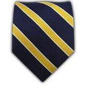 Ties - Honor Stripe - Navy/Gold - Ties