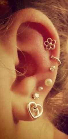 Piercings ears