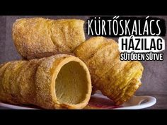 Kürtőskalács házilag (sütőben sütve) - YouTube Kurtos Kalacs, Bread, Ethnic Recipes, Youtube, Breads, Bakeries, Youtubers