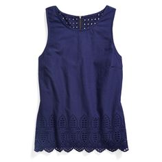 Stitch Fix May Styles: Eyelet Detail Top