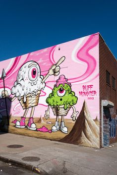 Buff Monster, Williamsburg | Flickr: Intercambio de fotos