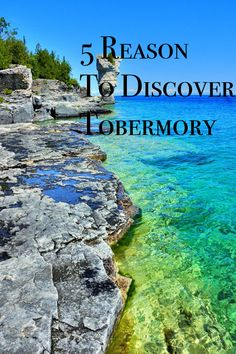 Flowerpot Island, Ontario via Places Around The World, Oh The Places You'll Go, Places To Travel, Places To Visit, Flowerpot Island, Manitoulin Island, Ontario Travel, Canadian Travel, Canadian Rockies