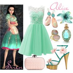 || Alice: Madness Returns ~ Siren outfit || by miyu-san on Polyvore