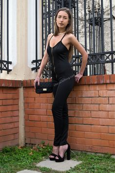#jumpsuit #fashion #style #black