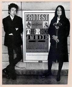 Bob Dylan & Joan Baez 1964