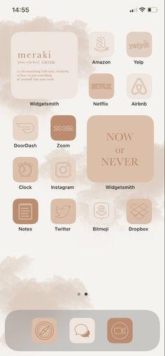 App Icons Beige