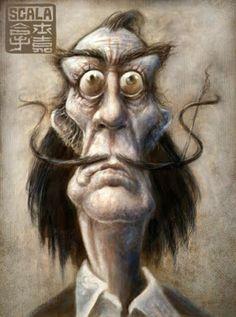 Daniela Scarel: Eric Scala * Caricatures * - France