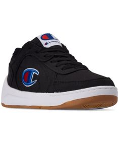 361579ac5 Champion Men s Super Court C Low Casual Sneakers from Finish Line - Black 10