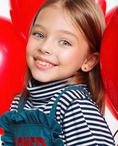 Young Models, Child Models, Preteen Fashion, Kids Fashion, Cute Kids, Cute Babies, God Made Girls, Anastasia Knyazeva, Anna Pavaga