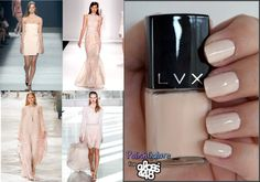 Nude nail polish - perfect with almost any outfit and doesn't show chips very easily! Blush Nails, Nude Nails, Hot Nails, Pink Nails, Hair And Nails, Nail Colour, Nude Color, Nail Polish Colors, Colorful Nail Designs