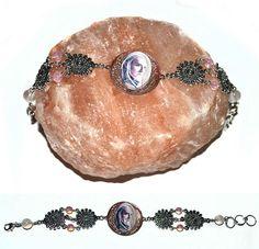 Elven king  metal bracelet handmade elven jewellery unique