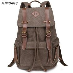 Dune - Vintage Unisex Canvas backpack