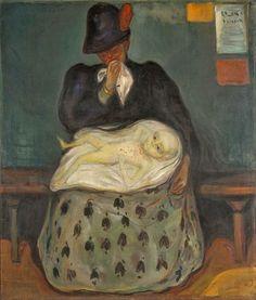 E d v a r d - M u n c h  Inheritance  1897-98 Munch Museum, Oslo