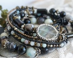 This listing is for the Set of 4 Boho Off the Beaten Path Stack Bracelets, Bohemian Rustic Indie Wanderlust Gypsy Stretch Shamballa Hemp Women Mens Bracelets Gift.  Price for the set of 4 bohemian Off the Beaten Path bracelets - $69 (instead of $76 if sold separately).  Bracelets can also be sold separetely:  1) Boho Dried Herbs Chakra Bracelet - https://www.etsy.com/au/listing/474191194/boho-dried-herbs-chakra-bracelet-gypsy?ref=shop_home_active_25  2) Boh...