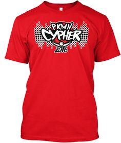 Pkmn Cypher 2016 Red T-Shirt Front