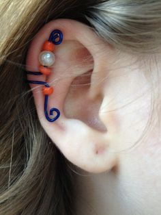 University of Florida Gators Ear Cuff. $5.00, via Etsy.