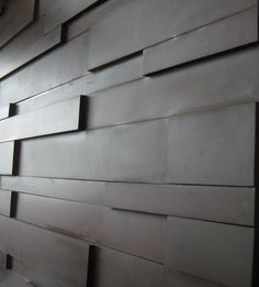 Interior kitchen wall clad in Welsh slate