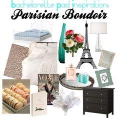 Bachelorette Pad inspiration: Parisian Boudoir