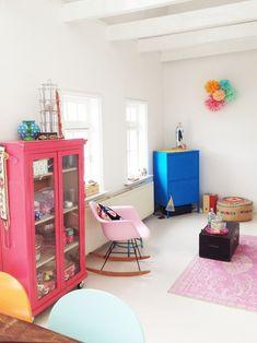 Light, bright, airy kid room inspiration.
