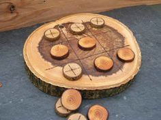 what to do with tree trunk pieces - Google Search