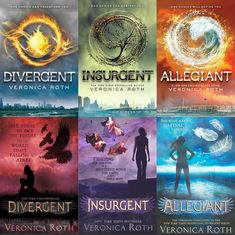 the-perks-of-being-a-book-lover:  We cant' be controlled  US and UK covers of the Divergent series