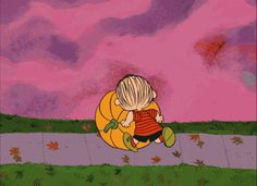 Rolling pumpkin charlie brown gif halloween halloween pictures halloween images halloween ideas