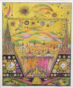 Color & lines. Alexandro Garcia, Guerror del arco iris, 1990