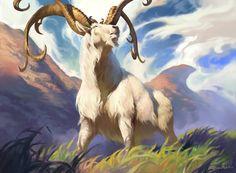 Thriving Ibex art by Sidharth Chaturvedi