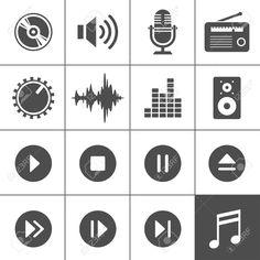 18305315-Musica-e-suono-icone-Archivio-Fotografico.jpg (1300×1300)