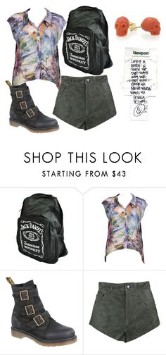 """""""lifes a biitch and then you die"""" by englishbreakfast ❤ liked on Polyvore featuring Stussy, Dr. Martens, One Teaspoon and Iosselliani"""