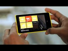 Nokia Lumia 920 - first hands-on video