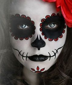 day of the dead face painting | Day of Dead Face Paint