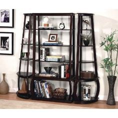 Coaster Fine Furniture 800240 Corner Bookcase - Home Furniture Showroom Corner Bookshelves, Cube Bookcase, Kids Bookcase, Living Room Furniture, Home Furniture, Furniture Showroom, Office Furniture, Furniture Sets, Interiors