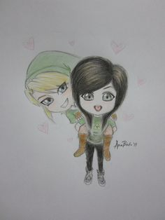 christina_grimmie_and_link_chibi_by_eromarap-d4gc9d0.jpg (3000×4000)