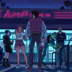 Drawing Superhero Casual Teen Titans by Gabriel Piccolo Nightwing, Batwoman, Teen Titans Fanart, Teen Titans Go, Gotham, Gabriel Picolo, Original Teen Titans, Cartoon Boy, Young Justice
