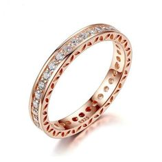 Classic Rose Gold Color Ring