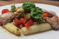 Spargelsalat, italienisch