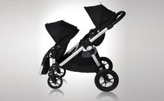 This unique stroller converts from a single to a double with the addition of the second seat accessory, which attaches toward the front of the stroller for easy in-and-out accessibility.