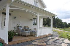 Villa Skogslunden: Vår veranda