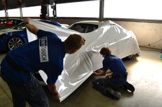 VinyTouch wraps 8 Porsches in Avery Dennison MPI 1005 EA RS.