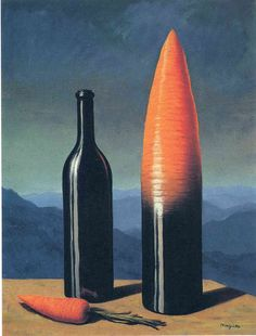 The explanation (1952) - Rene Magritte. Oil on canvas.