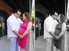 urban maternity photos ~ downtown raleigh nc photographer