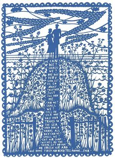 Can We?  Laser Cut by Rob Ryan