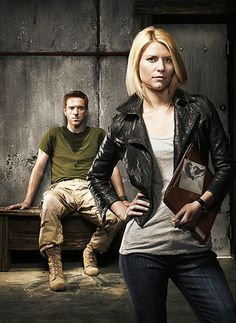 Damian Lewis and Claire Danes in my favorite show, Homeland