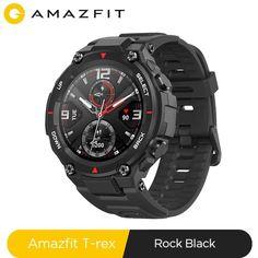 2020 CES Amazfit t-rex T rex Smartwatch 14 Modes de sport Bluetooth, Headset, Sport Mode, Ios Phone, Wearable Device, Smart Bracelet, Heart Rate Monitor, Samsung, T Rex